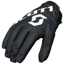 SCOTT motokrosové rukavice 250 black