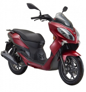 Keeway Cityblade 125i Sport red