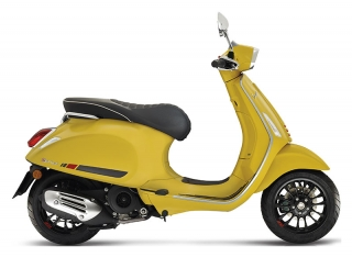 Vespa Sprint 125 Giallo Estate E5