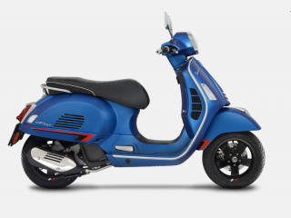 Vespa GTS Supersport 125 Blu Vivace E5