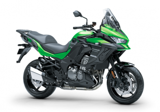 KAWASAKI VERSYS 1000 ABS MY20 Candy Lime green / Metallic Spark Black