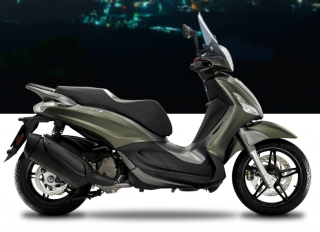 Piaggio Beverly 350 S ABS Verde Opaco