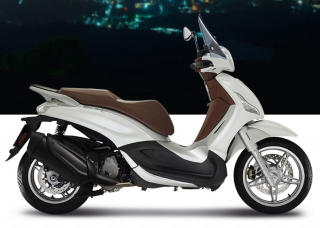 Piaggio Beverly Sport Touring 350 S ABS Bianco Iceberg