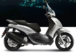 Piaggio Beverly Sport Touring 350 S ABS Argento Cometa