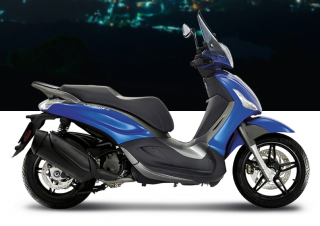 Piaggio Beverly Sport Touring 350 S ABS Blu Sport