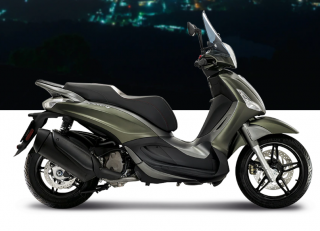 Piaggio Beverly Sport Touring 350 S ABS Verde Opaco