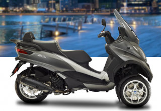 Piaggio MP3 Business 500 HPE ABS ASR Grigio Dust