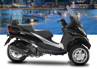 Piaggio MP3 Business 500 HPE ABS ASR Black Universo