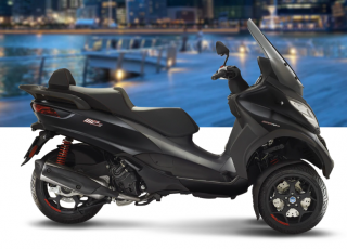 Piaggio MP3 500 HPE Sport Advanced Nero Opaco