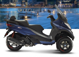 Piaggio MP3 500 HPE Sport Advanced Blu Opaco