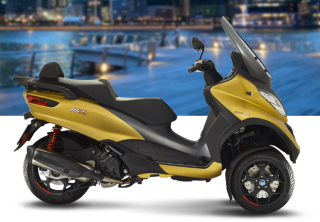 Piaggio MP3 500 HPE Sport Advanced Oro Opaco