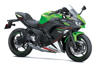 KAWASAKI Ninja 650 MY21 KRT Lime Green / Ebony / Pearl Blizzard White