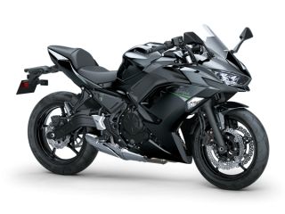KAWASAKI Ninja 650 MY20 Metallic Spark Black