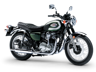 KAWASAKI W800 MY20 Metallic Dark Green