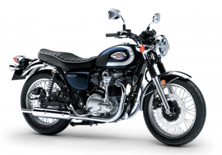 KAWASAKI W800 MY21 Metallic Ocean Blue