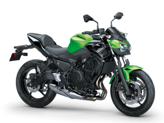 KAWASAKI Z650 MY20 Candy Lime Green / Metallic Spark Black