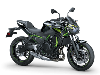 KAWASAKI Z650 MY20 Metallic Spark Black
