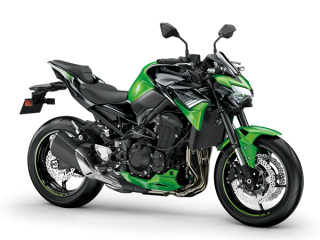 KAWASAKI Z900 MY20 Candy Lime Green / Metallic Spark Black