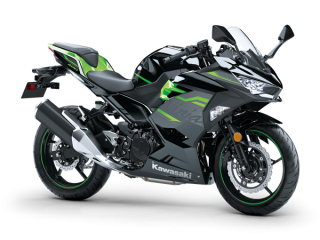 KAWASAKI NINJA 400 MY20 Metallic Spark Black / Lime Green