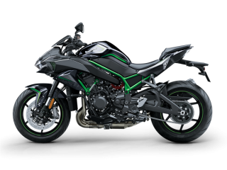 KAWASAKI Z H2 Metallic Spark Black / Metallic Graphite Grey / Mirror Coated Spark Black