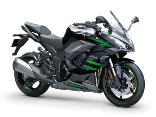KAWASAKI Ninja 1000SX MY20 Metallic Graphite Gray / Metallic Diablo Black