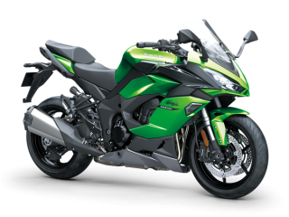 KAWASAKI Ninja 1000SX MY20 Emerald Blazed Green / Metallic Carbon Grey / Metal Graphite Grey