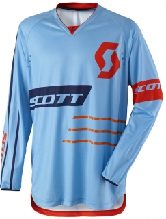 MX dres Scott 350 Dirt blue/ orange