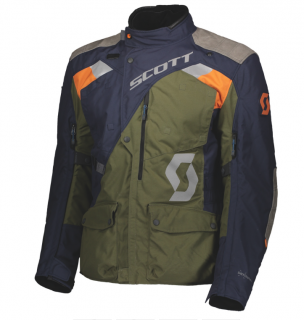 Bunda pánská SCOTT DUALRAID DRYO JACKET night blue/moss green
