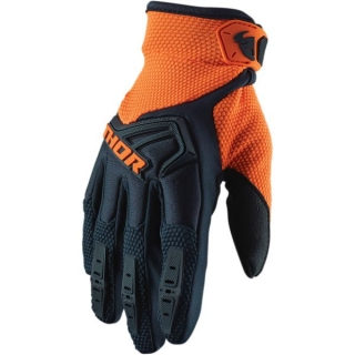 rukavice MX THOR Spectrum midnight/orange