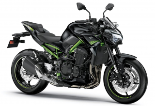 KAWASAKI Z900 MY21 Metallic Spark Black / Metallic Flat Spark Black