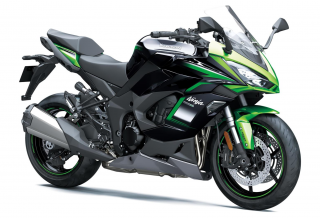 KAWASAKI Ninja 1000SX MY21  Emerald Blazed Green / Metallic Diablo Black / Metallic Graphite Gray