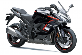 KAWASAKI Ninja 1000SX MY21 Metallic Moondust Grey / Metallic Diablo Black