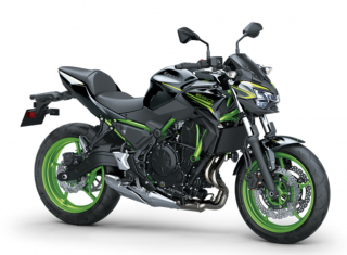 KAWASAKI Z650 MY21 Metallic Spark Black