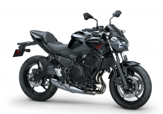 KAWASAKI Z650 MY21 Metallic Spark Black / Metallic Flat Spark Black
