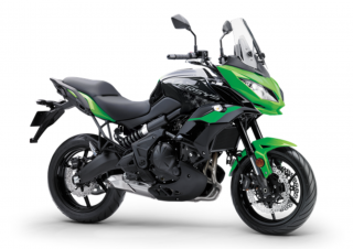 KAWASAKI VERSYS 650 ABS MY21 Candy Lime green / Metallic Spark Black