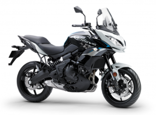KAWASAKI VERSYS 650 ABS MY21 Pearl Blizzard White / Metallic Spark Black