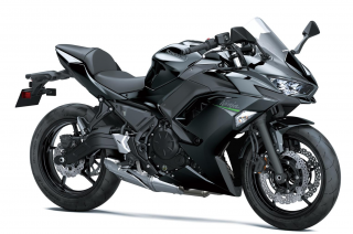 KAWASAKI Ninja 650 MY21 Metallic Spark Black