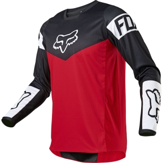 MX dres Fox 180 REVN jersey flame red