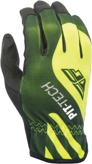 RUKAVICE PIT-TECH LITE FLY RACING - USA (black-fluo yellow)