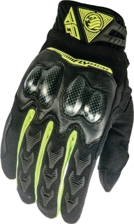 Fly Racing Patrol XC Gloves Black fluo yellow