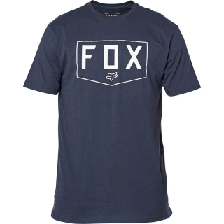 Pánské triko FOX SHIELD SS Premium Tee midnight