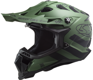 LS2 MX700 SUBVERTER Cargo Matt Military Green