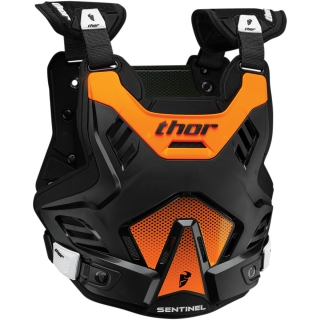 THOR Chránič hrudi MX SENTINEL GP orange/black