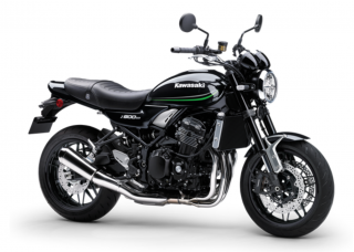 KAWASAKI Z900RS MY21 Metallic Spark Black