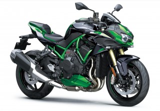 KAWASAKI Z H2 SE MY21 Golden Blazed Green / Metallic Diablo Black