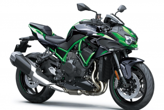 KAWASAKI Z H2 Golden Blazed Green / Metallic Diablo Black
