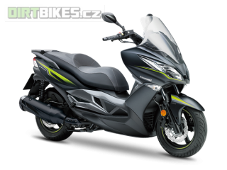 KAWASAKI J300 SE MY18 Metallic Flat Anthracite Black