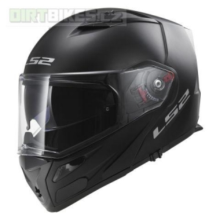 LS2 FF324 METRO SOLID matt black, FOG FIGHTER (PINLOCK)