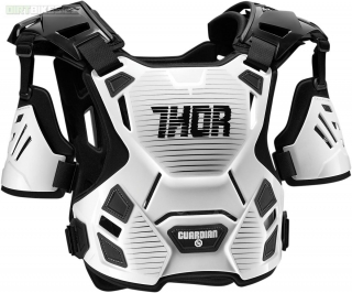 Chránič hrudi MX THOR GUARDIAN black/white