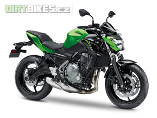 2.KAWASAKI Z650 ABS MY18 Candy Lime Green